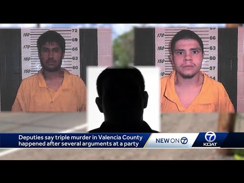 Triple murder following arguments at Valencia County party