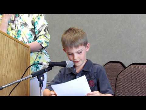 Connor 1st Place Poem - The First Bike Ride