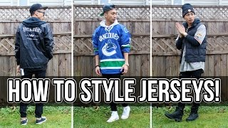 HOW TO STYLE JERSEYS FT. REPJERSEYS | PAUL ZEDRICH