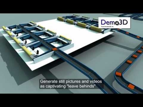 Emulate3D for Airport Baggage Handling Systems