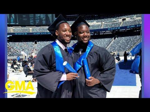 2020 graduates finally receive diplomas on stage