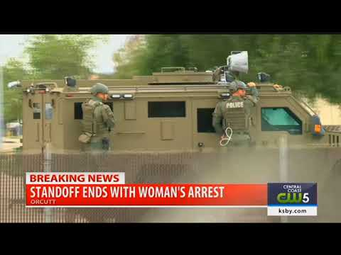 Standoff in Orcutt ends with woman's arrest
