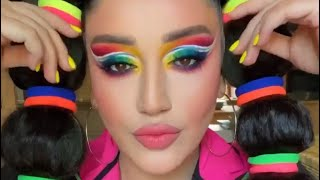 Радужный макияж от прекрасной Гоар Аветисян Instagram тюнингуюсь с Гоар