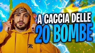 TO CACCIA of the 20 BOMBE! SPECTACULAR ROYAL VICTORY! FORTNITE ITA