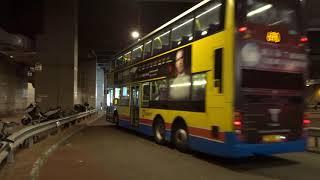 Citybus HK: Central bound Enviro500 8164 Rt.690 leaving Po Lam