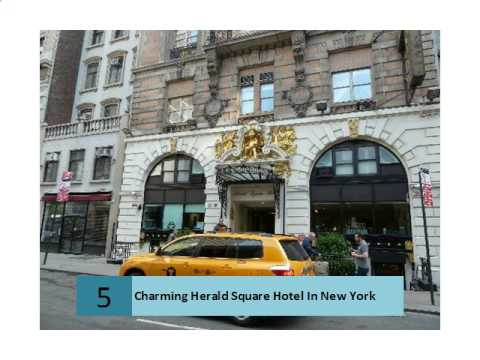 Charming Herald Square Hotel In New York