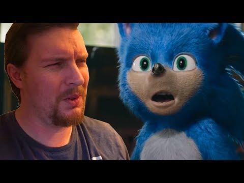 Sonic Movie Trailer 1 Reaction 2019 Youtube