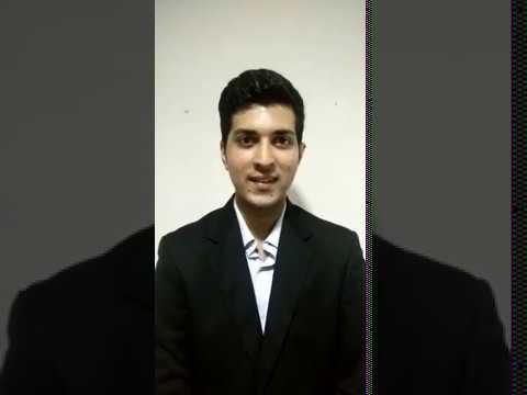 Siddarth Shetty IIM Kozhikode JSW Video
