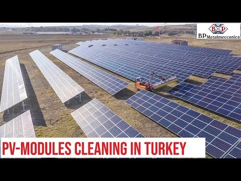 Solar Panel Cleaning in Turkey
