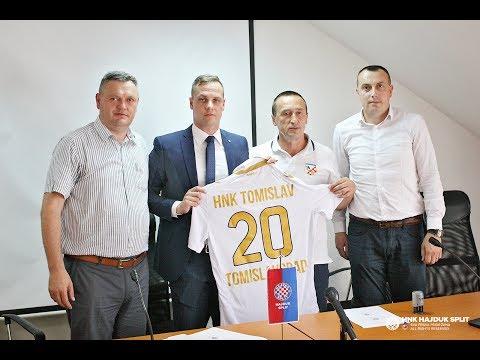 Potpisivanje poslovno-sportske suradnje HNK Hajduk i HNK Tomislavgrad