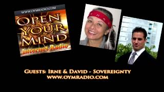 Open Your Mind (OYM) Radio - Irene & David - 19th April 2015
