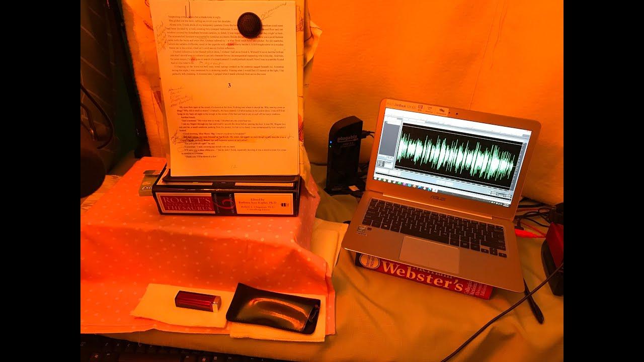 My debut audiobook is here!