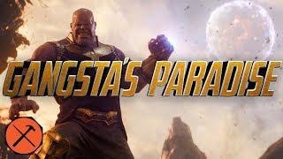 Avengers Infinity War Trailer - Gangsta39s Paradise