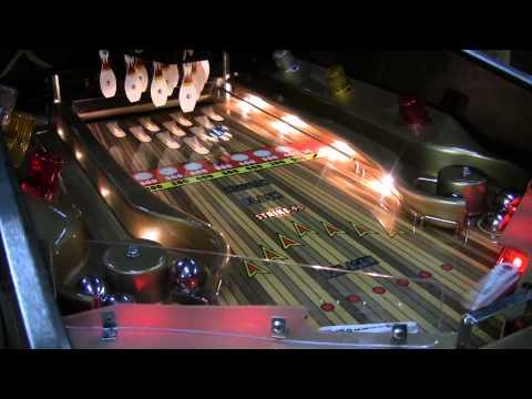 #402 Gottlieb STRIKES AND SPARES Shuffle Bowling PINBALL MACHINE! TNT Amusements