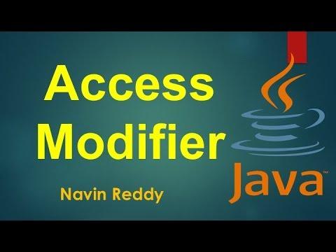 #8.2-java-tutorial-|-access-modifiers