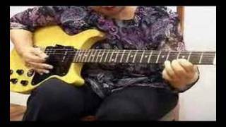 Samba Pa Ti -- My Grandmother Playing the Guitar