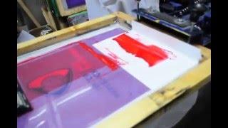 Шелкотрафаретная  печать на плащевой ткани(, 2012-11-14T21:47:14.000Z)