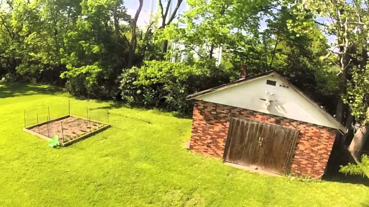 Phantom Water Tower And Backyard In The Midwest Youtube