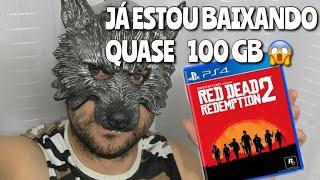 BAIXANDO RED DEAD REDEMPTION 2 - QUASE 100 GB