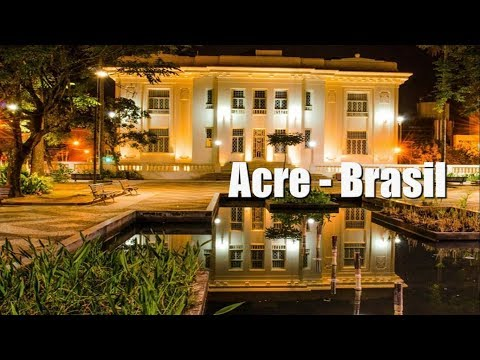 Turismo no Brasil em Rio Branco - Acre | 3D Parallax | PowerPoint 3D | Tourism in Brazil