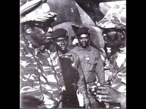 Témoignage choc sur la mort du général Mahélé chef de l'armée du Président Mobutu de la Rép du Zaïre