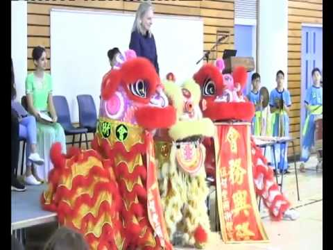 Chinese New Year Assembly - West Island School - 03 Feb 2016