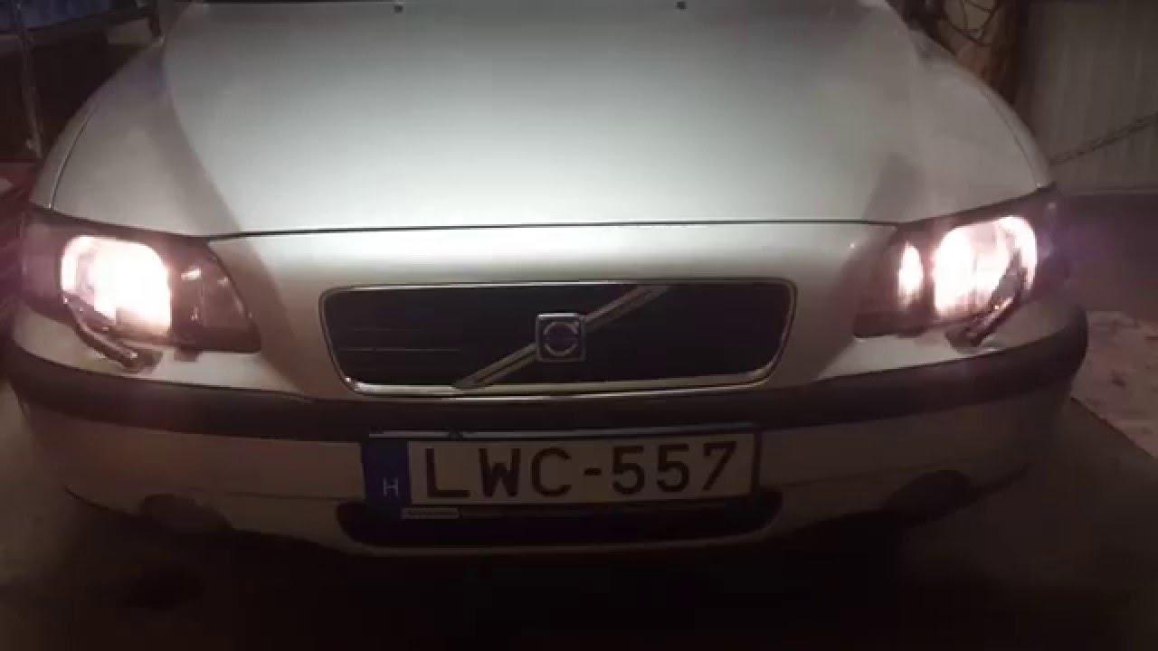 2001 volvo s60 headlight wipers work again