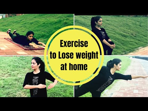 Exercise to lose weight fast at home |Workout Plan | Weight Loss Journey | Somya Luhadia