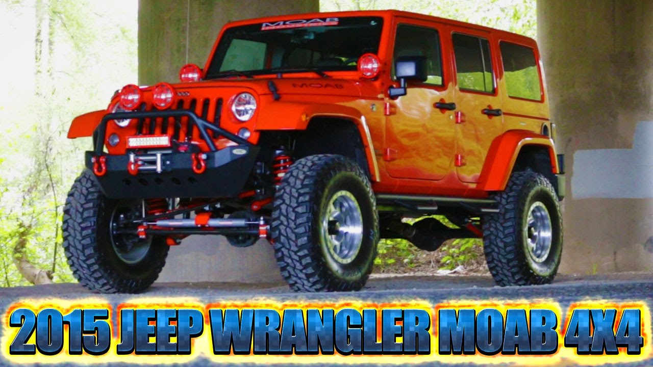 2015 Jeep Wrangler Unlimited MOAB 4x4   Northwest Motorsport