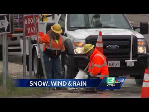 Extended snow season impacts Sierra home building