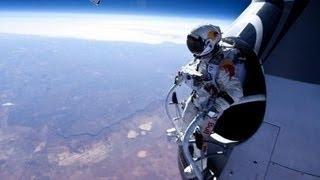 Felix Baumgartner Red Bull Stratos FULL SPACE JUMP VIDEO