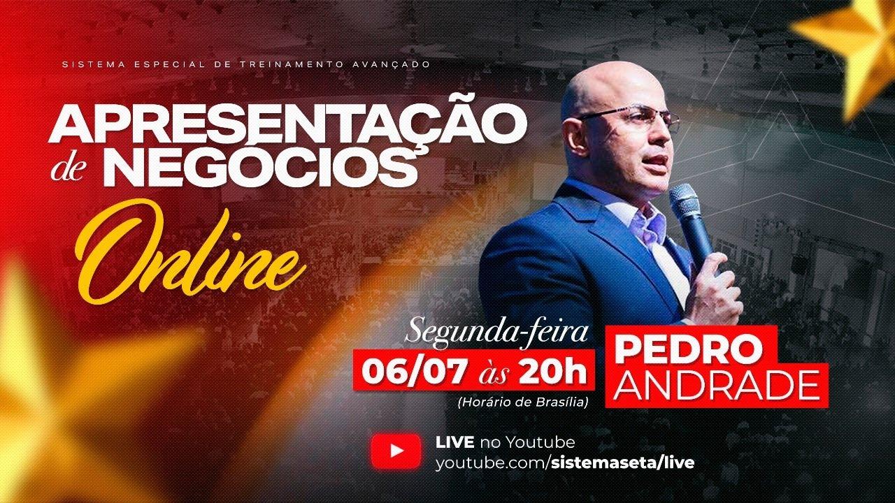 Apresentação Online - Pedro Andrade