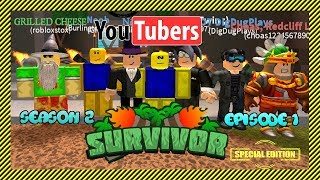 Roblox Survivor | Special YouTubers Edition - Season 2 Episode 1 | Meet The Cast!