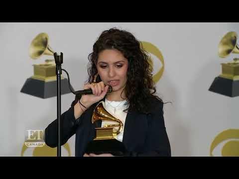 Grammy Awards Alessia Cara Backstage
