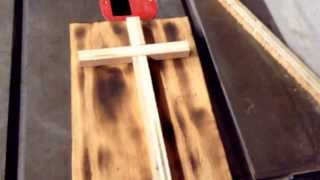 How to make an easy wood cross
