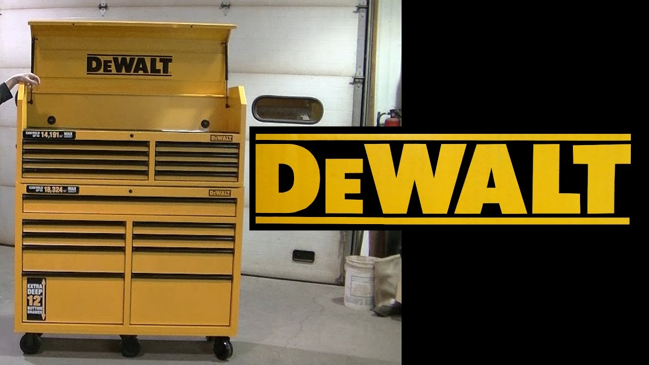 Dewalt 52 Toolbox Chest Cabinet Roller Combo Overview