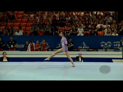 LIMA Ana Luiza (BRA) - 2019 Artistic Junior Worlds, Gyor (HUN) - Qualifications Floor Exercise