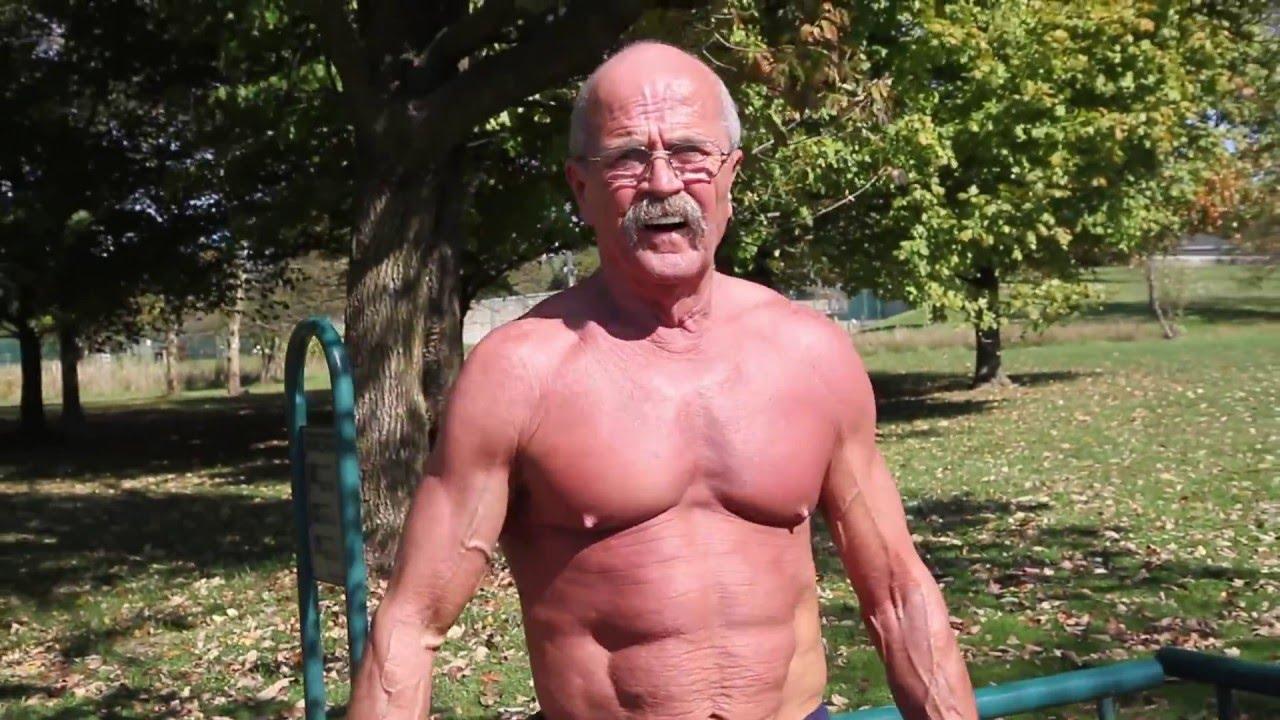 Nude grandpas
