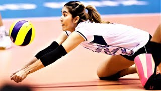 Piyanut Pannoy Best LIBERO - Receiver Volleyball Actions | GREAT Digs Saves | World Grand Prix 2017