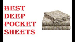 Best Deep Pocket Sheets 2020
