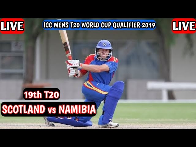 Namibia vs Scotland Live 🔴 ICC Mens T20 World Cup Qualifier 2019 NAM vs SCO T20 Live