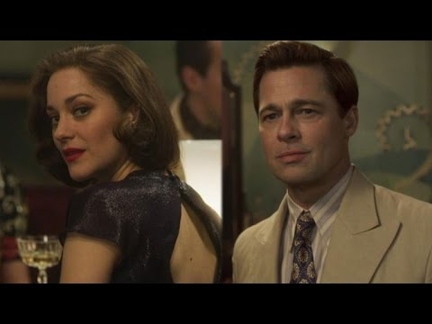 Brad Pitt and Marion Cotillard Find Love During War in 'Allied' Trailer