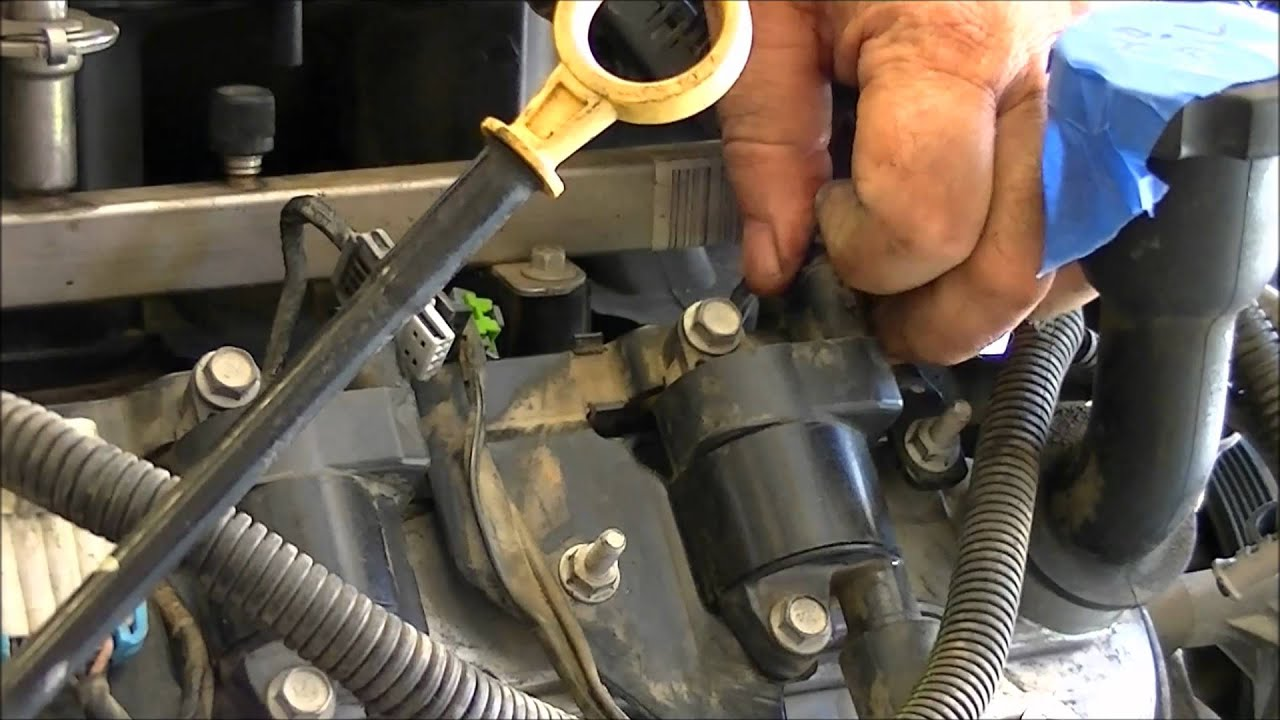 maxresdefault removing the wiring harness from an ls motor youtube how to replace a wiring harness at fashall.co