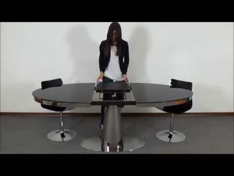 MOON OVAL - Space Saving Table - Milano Smart Living
