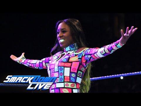 Naomi vs. Eva Marie: SmackDown Live, Aug. 16, 2016