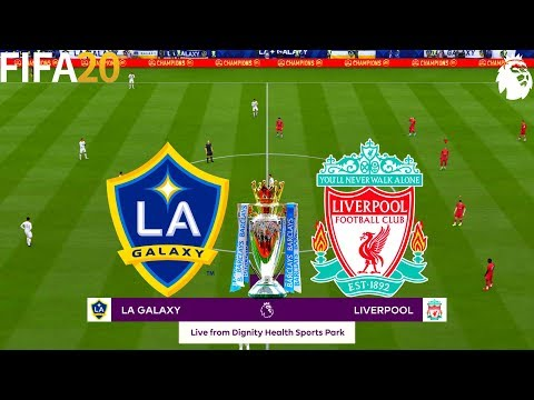 Fifa 20 La Galaxy Vs Liverpool Super Premier League Full Match Gameplay Youtube