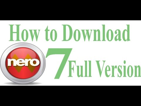 How to download nero 7 full version for free