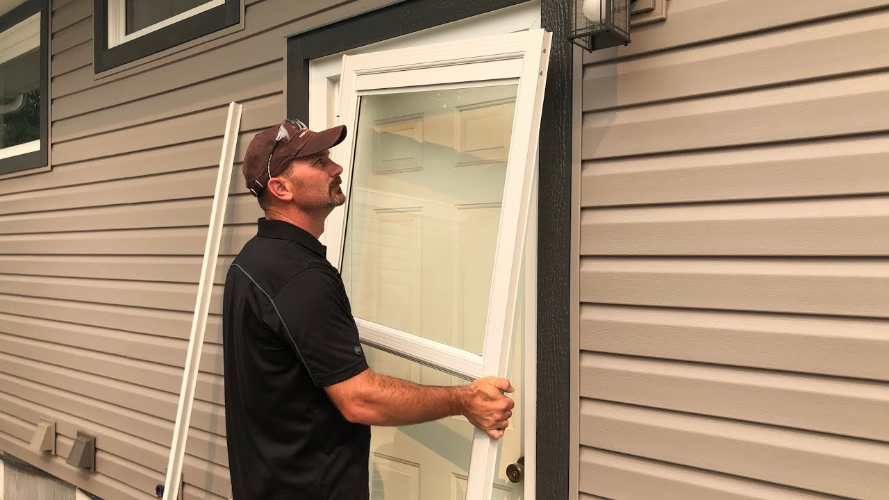 How To Install A Storm Door You