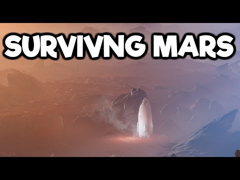Surviving Mars Gameplay #5 - A Terrible Meteor Storm Arrives!