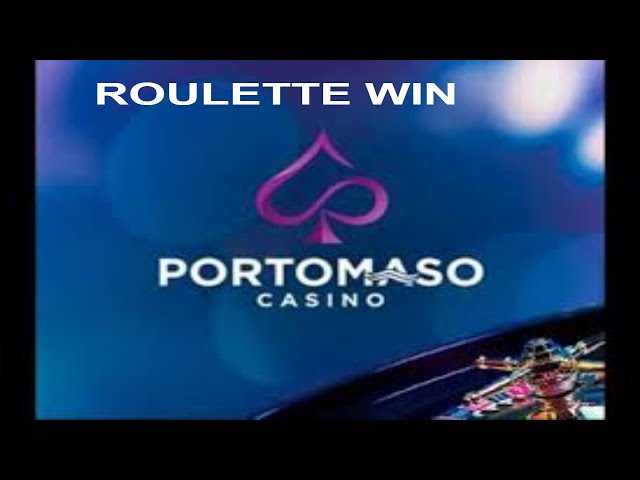 PORTOMASO ROULETTE  ★ 100% SURE WIN 💰CASINO  50 USD A 535 USD